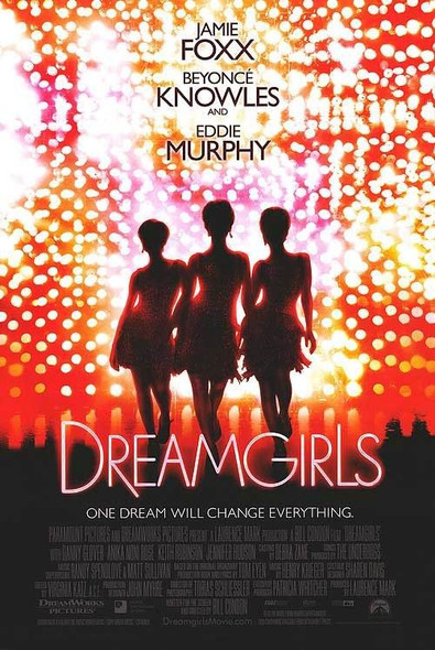 DREAM GIRLS (DOUBLE SIDED International) (2006) ORIGINAL CINEMA POSTER