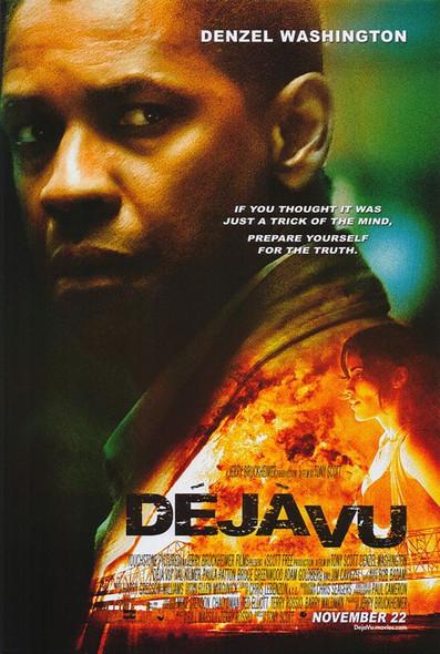 DEJA VU (DOUBLE SIDED Regular) (2006) ORIGINAL CINEMA POSTER