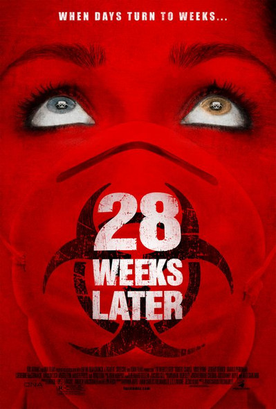 28 WEEKS LATER (SINGLE SIDED Regular) (2007) ORIGINAL CINEMA POSTER