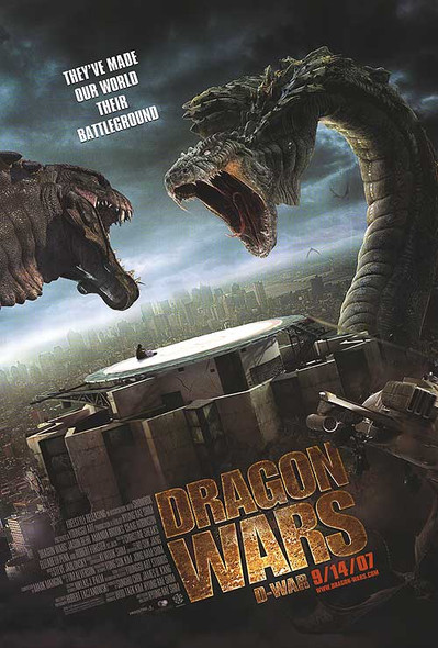 DRAGON WARS (DOUBLE SIDED Regular) (2007) ORIGINAL CINEMA POSTER
