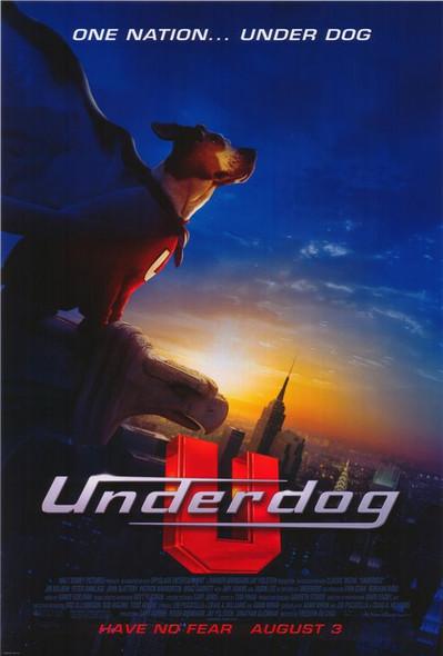 UNDERDOG (DOUBLE SIDED Regular) (2007) ORIGINAL CINEMA POSTER
