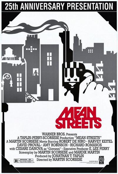 MEAN STREETS (25th Anniversary) (1973) ORIGINAL CINEMA POSTER