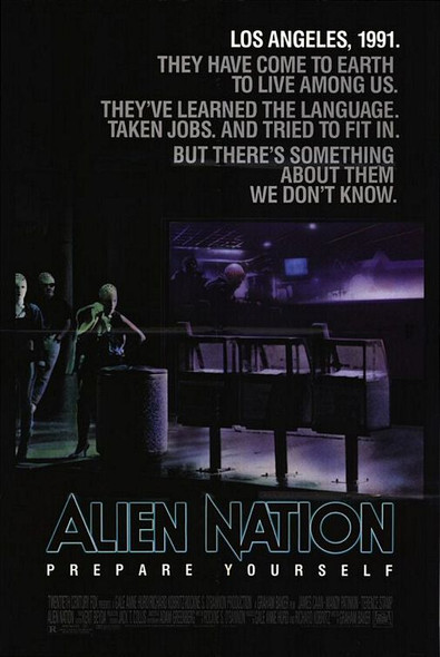 ALIEN NATION (1988) ORIGINAL CINEMA POSTER