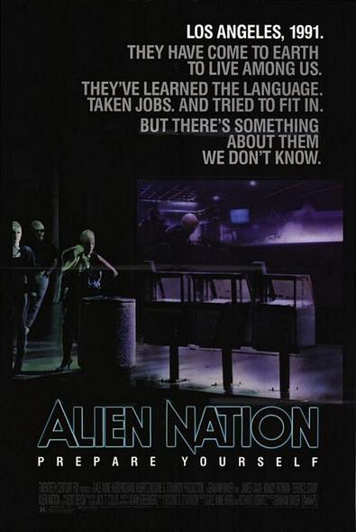 ALIEN NATION (1988) ORIGINAL CINEMA POSTER