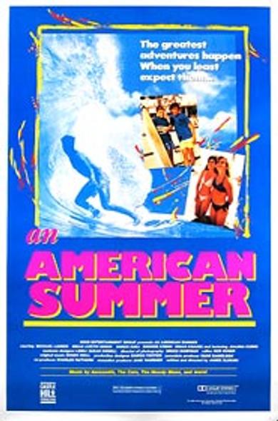 AN AMERICAN SUMMER (SINGLE SIDED Regular) (1991) ORIGINAL CINEMA POSTER