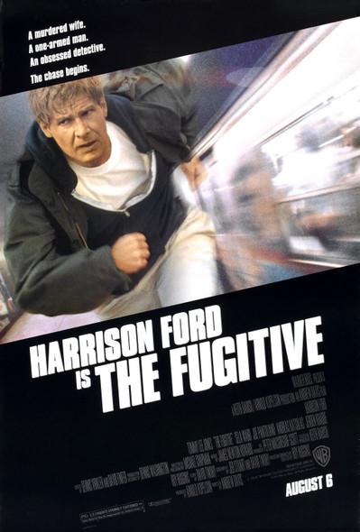 THE FUGITIVE (1993) ORIGINAL CINEMA POSTER