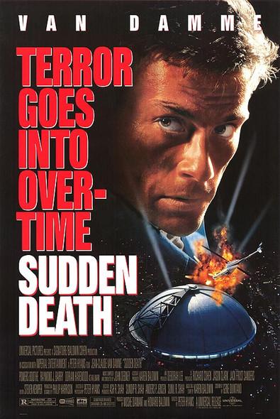 SUDDEN DEATH (Reprint) (1995) REPRINT CINEMA POSTER
