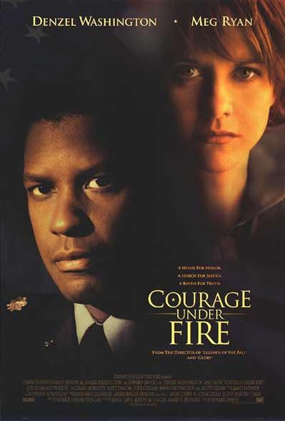 COURAGE UNDER FIRE (1996) ORIGINAL CINEMA POSTER