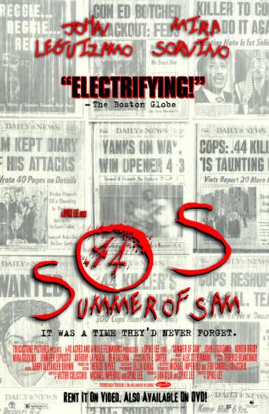 SUMMER OF SAM (Video) (1999) ORIGINAL CINEMA POSTER