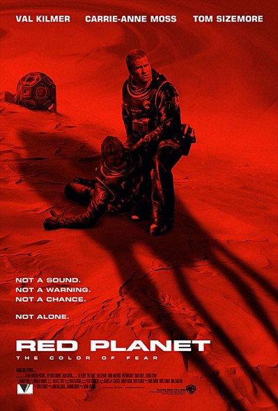 RED PLANET (2000) ORIGINAL CINEMA POSTER
