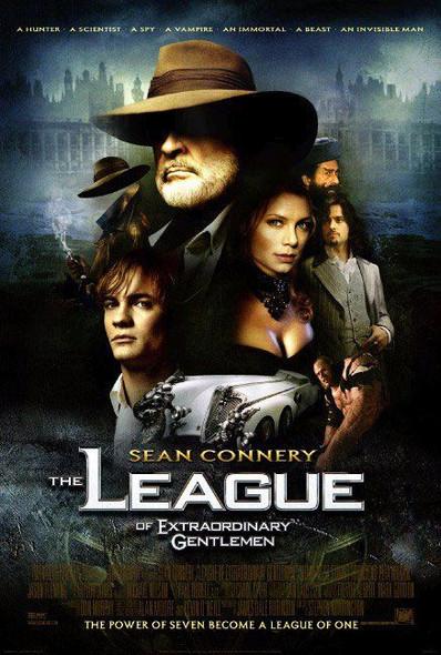 THE LEAGUE OF EXTRAORDINARY GENTLEMEN (Reprint) (2003) REPRINT CINEMA POSTER