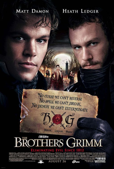 THE BROTHERS GRIMM (DOUBLE SIDED Regular Style E) (2005) ORIGINAL CINEMA POSTER
