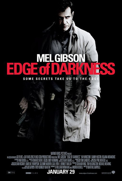 EDGE OF DARKNESS   double sided US ONE SHEET (2010) ORIGINAL CINEMA POSTER