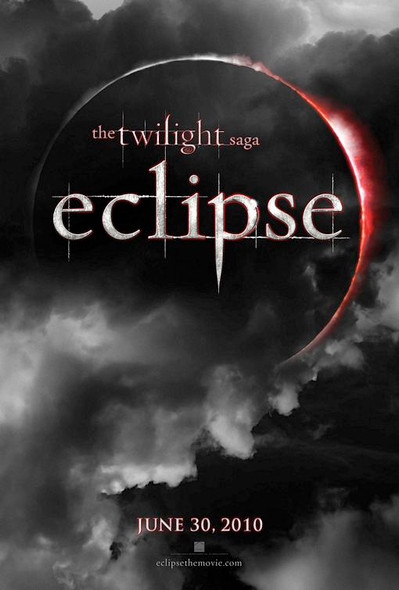 TWILIGHT ECLIPSE Poster - (Robert Pattinson, Taylor Lautner) - RARE double sided ADVANCE US ONE SHEET (2010) ORIGINAL CINEMA POSTER