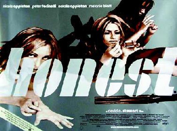 HONEST (SINGLE SIDED) ORIGINAL CINEMA POSTER