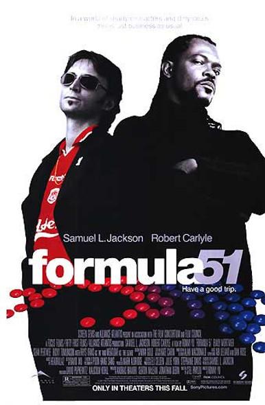 FORMULA 51 (Double Sided Regular) (AKA 51st State) ORIGINAL CINEMA POSTER