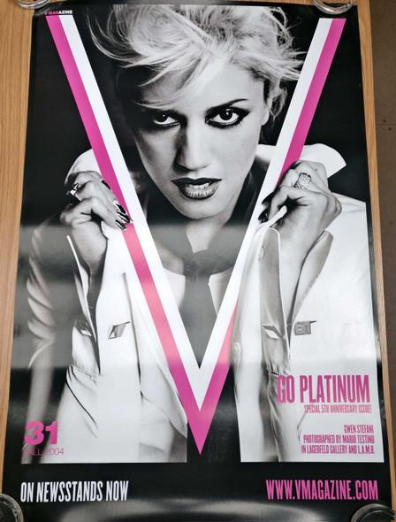 Gwen Stefani (V Magazine) (Style B) Original Music Poster