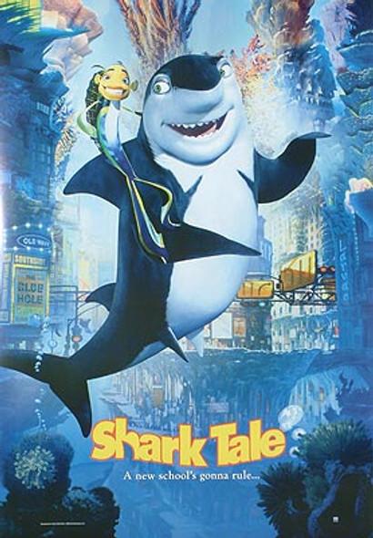 SHARK TALE (Shark & Fish Reprint) REPRINT POSTER
