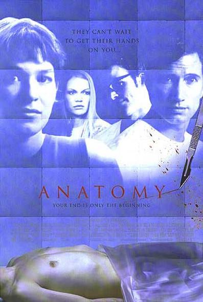 ANATOMY (DOUBLE SIDED) ORIGINAL CINEMA POSTER