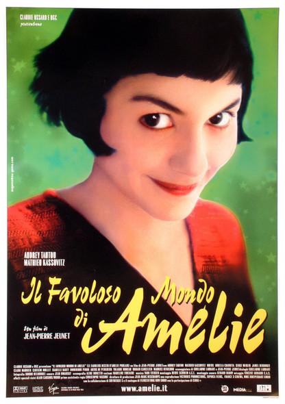 AMELIE (Italian Reprint) (Single Sided) (UV COATED/HIGH GLOSS) REPRINT POSTER