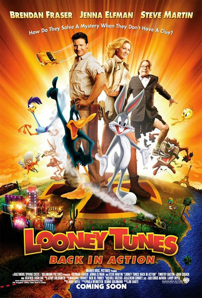 LOONEY TUNES: BACK IN ACTION (Reprint) REPRINT POSTER