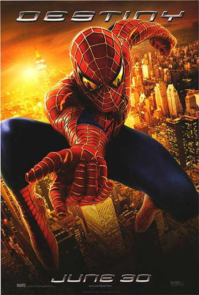 SPIDERMAN 2 (Destiny Reprint) REPRINT POSTER