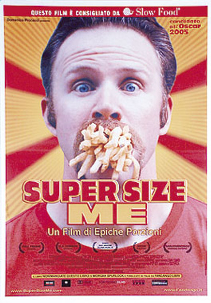 SUPER SIZE ME (International Reprint) REPRINT POSTER