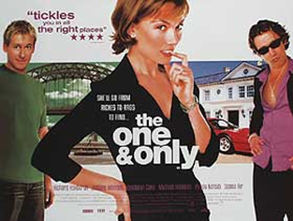 THE ONE AND ONLY (SINGLE SIDED) ORIGINAL CINEMA POSTER