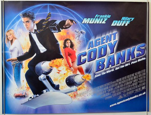 AGENT CODY BANKS ORIGINAL CINEMA POSTER