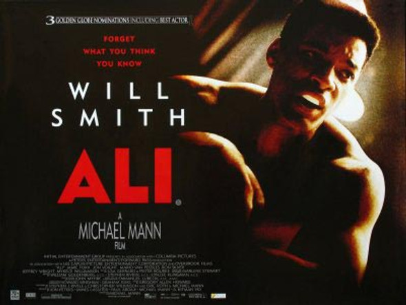 ALI (SINGLE SIDED) ORIGINAL CINEMA POSTER