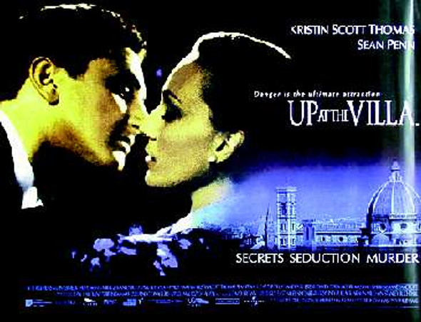 UP AT THE VILLA (DOUBLE SIDED) ORIGINAL CINEMA POSTER