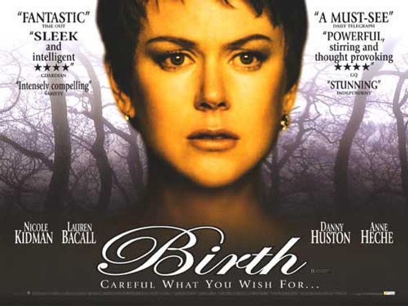 BIRTH ORIGINAL CINEMA POSTER