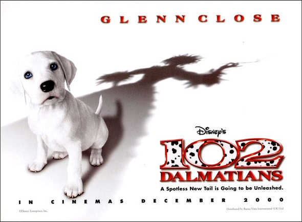 102 DALMATIANS (SINGLE SIDED) ORIGINAL CINEMA POSTER