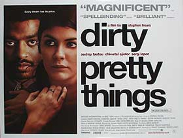 DIRTY PRETTY THINGS (DOUBLE SIDED) ORIGINAL CINEMA POSTER