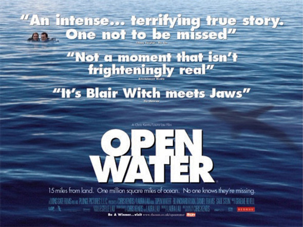 OPEN WATER (DOUBLE SIDED) ORIGINAL CINEMA POSTER