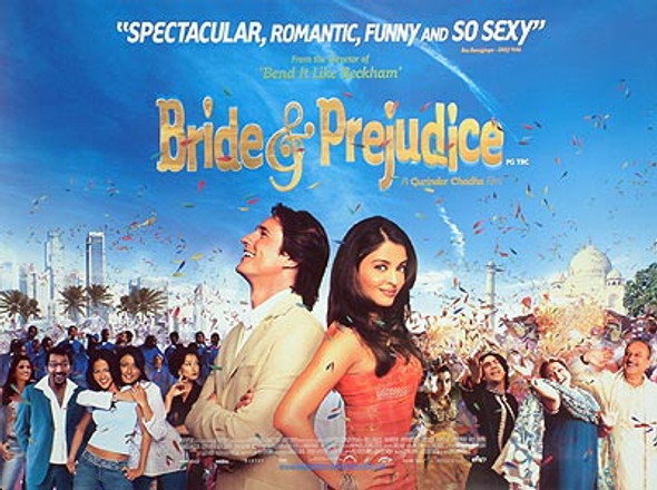 BRIDE AND PREDJUDICE (Double Sided) ORIGINAL CINEMA POSTER