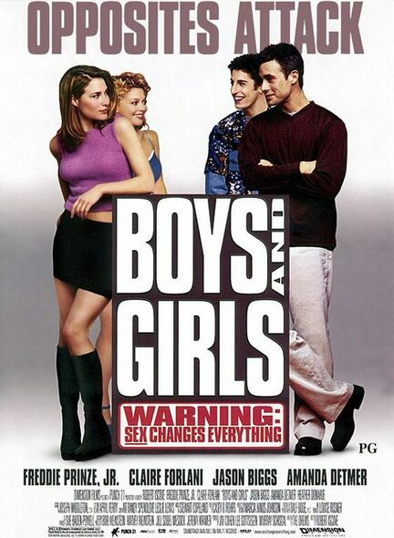 BOYS AND GIRLS ORIGINAL CINEMA POSTER