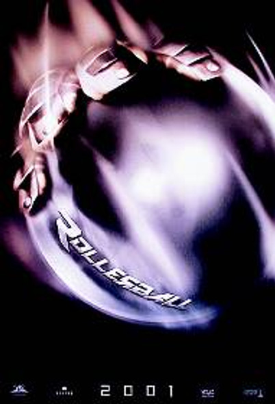 ROLLERBALL 2001 (Advanced) ORIGINAL CINEMA POSTER