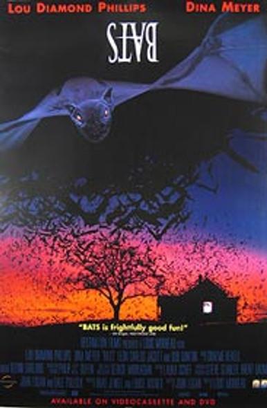 BATS (Video) ORIGINAL VIDEO/DVD AD POSTER