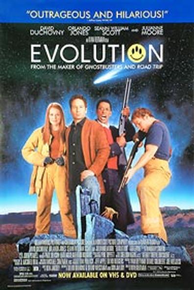 EVOLUTION (Video) ORIGINAL VIDEO/DVD AD POSTER