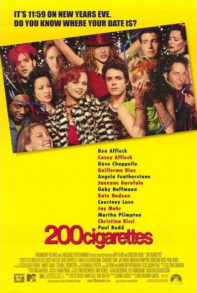 200 Cigarettes (Double Sided) ORIGINAL CINEMA POSTER