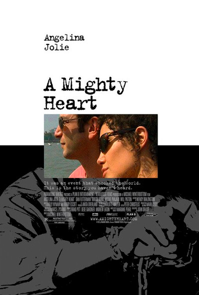 A Mighty Heart (Double Sided Regular) Original Cinema Poster