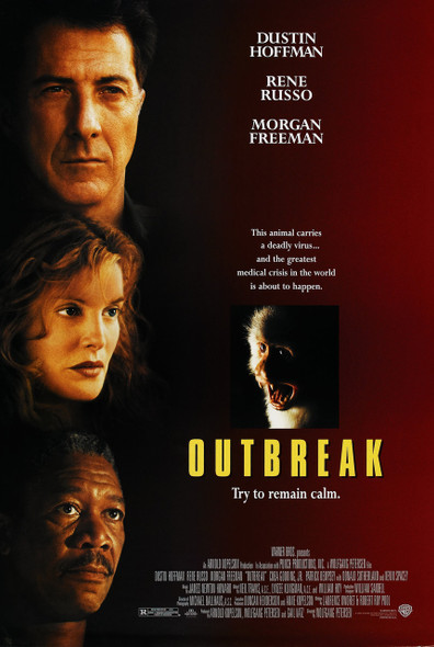 OUTBREAK (SINGLE SIDED REGULAR) ORIGINAL CINEMA POSTER