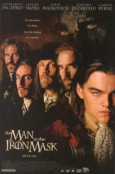 THE MAN IN THE IRON MASK (Single Sided Regular) ORIGINAL CINEMA POSTER
