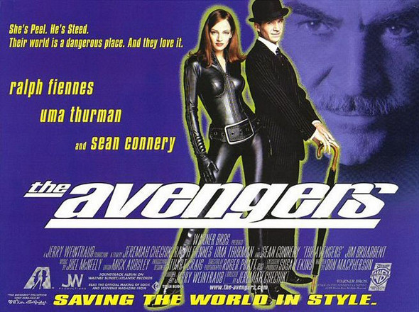 THE AVENGERS ORIGINAL CINEMA POSTER