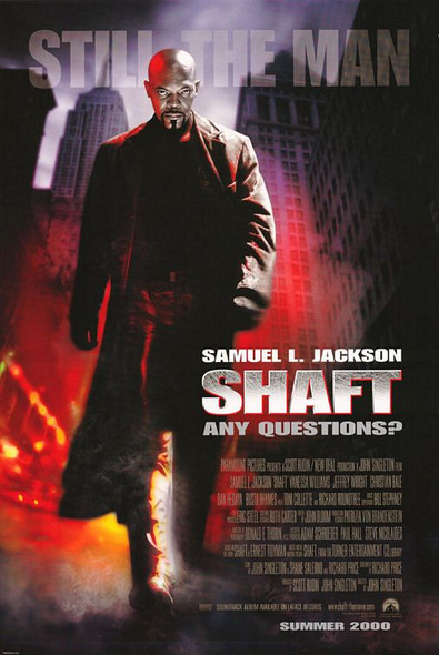 SHAFT 2000 ORIGINAL CINEMA POSTER