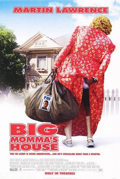 BIG MOMMA'S HOUSE ORIGINAL CINEMA POSTER