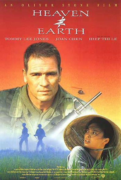 HEAVEN AND EARTH (SINGLE SIDED) ORIGINAL CINEMA POSTER