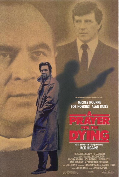 A PRAYER FOR THE DYING (SINGLE SIDED) ORIGINAL CINEMA POSTER