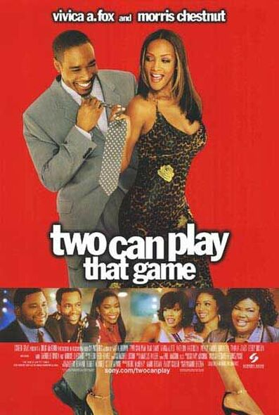 TWO CAN PLAY THAT GAME ORIGINAL CINEMA POSTER